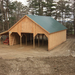 Custom Agricultural Barn - Photography by Rose Woodyard