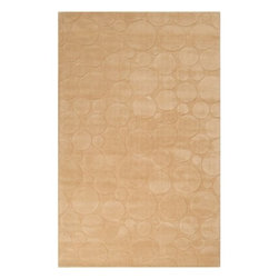 Surya Rugs - Surya SCU-7554 Sculpture Designer Hand Loomed 100% Wool Gold Rug - 100% Wool. Style: Designer. Rugs Size: 5' x 8'. Note: Image may vary from actual size mentioned.
