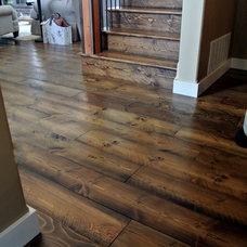 Rustic Hardwood Flooring by Sustainable Lumber Co.