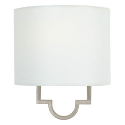 Quoizel Lighting - Quoizel LSM8801PS Millennium 1 Light Wall Sconce, Pewter Plated - Long Description: Reflect your personal sense of style within your home with this simple and clean lighting fixture. The soft modern form reflects pure elegance and sophistication, and it walks the fine line between traditional and modern styles. It is designed and crafted with the utmost care. Other coordinating fixtures are available.
