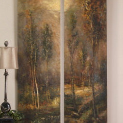 "32177 Woodland Panels, S/2 by uttermost - Get 10% discount on your first order. Coupon code: ""houzz"". Order today."