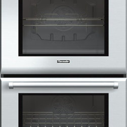 Thermador - 30 inch Professional Series Double Oven PODC302J - Our 30-inch Double Ovens combine beauty and power to create the only truly professional-level built-in ovens available. With a massive 9.4 combined cubic feet of capacity and True Convection, you can prepare virtually any kind of meal. Learn more about the features and benefits of our double ovens.