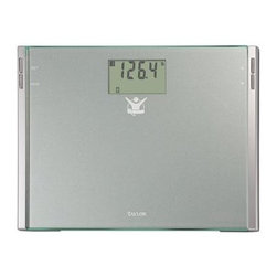 Taylor - Biggest Loser Digital Bath Scale 440lb - Biggest Loser by Taylor High Tempered Glass Electronic Digital Bath Scale with 440 lb. Capacity