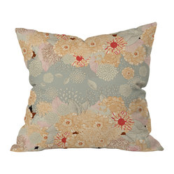 Iveta Abolina Creme De La Creme Throw Pillow, 26x26x7