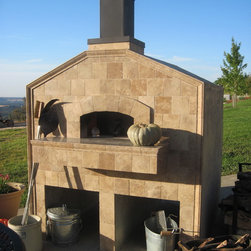 Mugnaini Wood Fired Ovens - Mugnaini Wood Fired Ovens Residential Exterior - Mugnaini Medio model wood fired pizza oven is a wonderfully versatile wood burning oven for family meals and entertaining. Our ovens come six standard styles, offering infinite possibilities for your outdoor oven design. Learn more at http://www.mugnaini.com/residential-ovens/