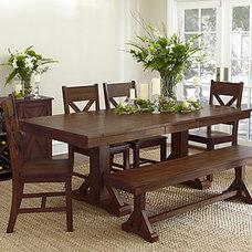 Mahogany Verona Dining Collection   Dining Room Furniture  Furniture   World Mar