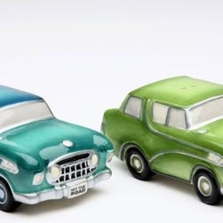 ATD - 3.5 Inch Road Trip Light Green and Blue Cars Salt and Pepper Shakers - This gorgeous 3.5 Inch Road Trip Light Green and Blue Cars Salt and Pepper Shakers has the finest details and highest quality you will find anywhere! 3.5 Inch Road Trip Light Green and Blue Cars Salt and Pepper Shakers is truly remarkable.