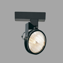 Nora Lighting - Nora NTL-2220 PAR36 Gimbal Ring Low Voltage Track Fixture - Low voltage track fixture made of lightweight, strong steel construction.NTL-2200 electronic transformer required (sold separately).