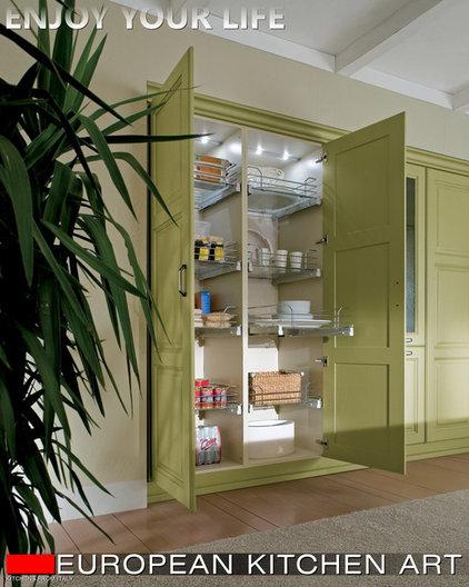 Traditional Kitchen Cabinets by Vadim Kadoshnikov