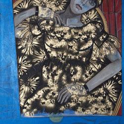 Unconscious on Canvas - Bla - Bla, by Darlene Graeser from Unconscious on Canvas in 2011 is a 48x60 acrylic on canvas painting.