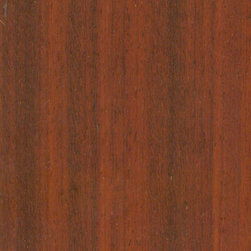 Exotic Wood Flooring - Also known as Makore, African Cherry is pink or reddish brown, commonly with a mottled or wavy grain pattern. Figured grain patterns are commonly seen in Makore, and include mottled, curly, wavy, and moire.