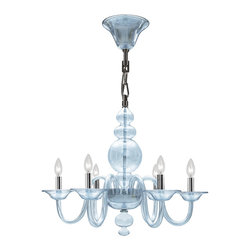 Crystorama - Crystorama 9846-CH-IB Harper 6 Light Chandeliers in Polished Chrome - This collection was created to appeal to homeowners with a modern eye for design. With a contemporary shape, Harper works well with sparse interiors as a centerpiece on a blank canvas.