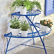 Eclectic Plant Stands And Telephone Tables by Gardener's Supply Company