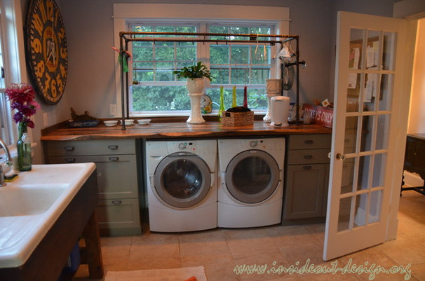 Traditional Laundry Room by Inside Out Design, LLC