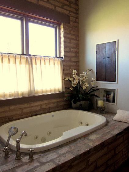 Eclectic Bathroom by Linda Robinson Design Associates