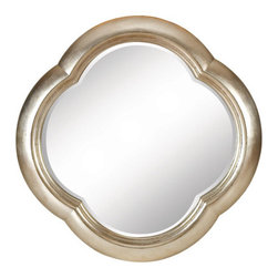 Belle Meade Mandalay Sterling Mirror - A global view doesn't always mean rustic. This glam piece would lend a bit of understated sophistication to any space.