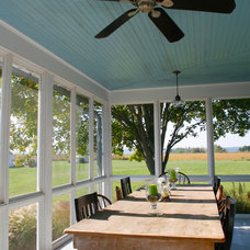 Traditional Porch by John Toates Architecture and Design
