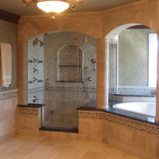 Mediterranean Bathroom by Bradford And Kent