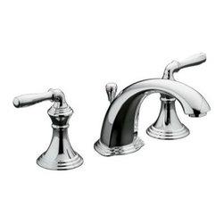 KOHLER - KOHLER K-394-4-CP Devonshire Widespread Bathroom Sink Faucet - KOHLER K-394-4-CP Devonshire Widespread Bathroom Sink Faucet in Polished Chrome