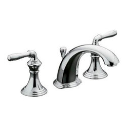 KOHLER - KOHLER K-394-4-CP Devonshire Widespread Bathroom Sink Faucet - KOHLER K-394-4-CP Devonshire Widespread Bathroom Sink Faucet in Polished Chrome