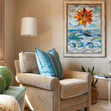 Traditional Living Room by Debra Lynn Henno Design