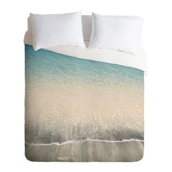 DENY Designs - DENY Designs Aimee St Hill Bequia Duvet Cover - Lightweight - Turn your basic, boring down comforter into the super stylish focal point of your bedroom. Our Lightweight Duvet is made from an ultra soft, lightweight woven polyester, ivory-colored top with a 100% polyester, ivory-colored bottom. They include a hidden zipper with interior corner ties to secure your comforter. It is comfy, fade-resistant, machine washable and custom printed for each and every customer. If you're looking for a heavier duvet option, be sure to check out our Luxe Duvets!
