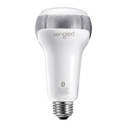 Sengled - Sengled Pulse Solo - Dimmable LED Light with Stereo Bluetooth Speakers - Pulse Solo is the world's first LED light with dual speakers in one bulb.  Pulse Solo combines the energy efficiency of a dimmable LED light with the high-quality audio of a JBL Bluetooth speaker.