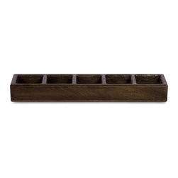 None - Wood Old Spanish Mission Hacienda 5-light Candleholder - The Old Spanish Mission Hacienda candle holder has been handcrafted by skilled artisans from China. Made from wood and able to hold five candles, this holder is an ideal accent to any home.