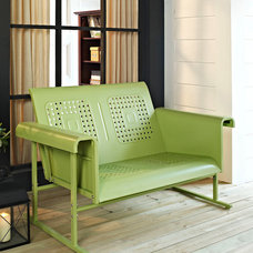 Oasis Green Veranda Love Seat Glider | Daily deals for moms, babies and kids