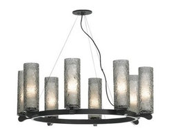 LBL Lighting - LBL Lighting Rock Candy 8 8 Light Suspension Chandelier - Features: