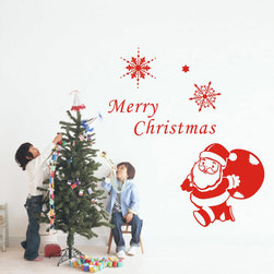 ColorfulHall Co., LTD - Wall Decor for Kids Funny Santa Claus Merry Christmas Holiday - Wall Decor for Kids Funny Santa Claus Merry Christmas Holiday