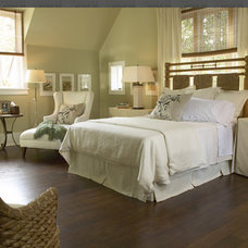 Transitional Bedroom by Our Town Plans