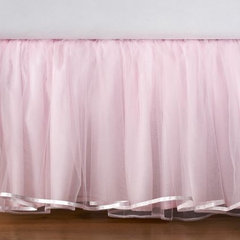 Elizabeth Tulle Bed Skirt | Pottery Barn Kids