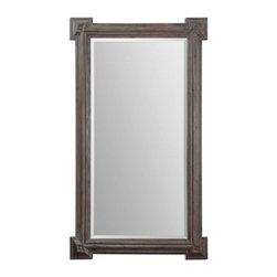 Uttermost - Uttermost Alberto Large Wood Mirror - 14482 - Uttermost Alberto Large Wood Mirror - 14482