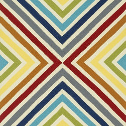 """Loloi Rugs - Loloi Rugs Palm Springs Collection - Multi, 7'-6"""" x 9'-6"""" - For the first time ever, world renowned designer Dann Foley brings his eye for great design and modern living to outdoorrugs. With patterns and colors as dynamic as Dann's persona, the Palm Springs Collection reflects Dann's passion forfun outdoor decorating. Palm Springs is hand hooked in China of 100% polypropylene that's specially treated to befade-resistant in spite of regular sunshine or rain."""