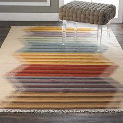 Rainbow Kilim Flatweave Rug -