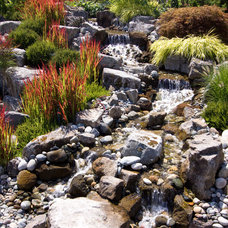 Eclectic Landscape by Alka Pool Construction Ltd