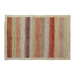 1800-Get-A-Rug - Oriental Rug Modern Gabbeh Hand Knotted Rug Sh9543 - About Modern & Contemporary