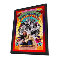 Block Party 11 x 17 Movie Poster - Style A - in Deluxe Wood Frame - Block Party 11 x 17 Movie Poster - Style A - in Deluxe Wood Frame.  Amazing movie poster, comes ready to hang, 11 x 17 inches poster size, and 13 x 19 inches in total size framed. Cast: Dave Chappelle