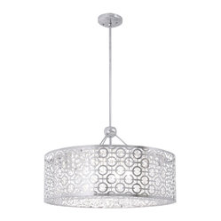 "DVI LIghting - Dvi Lighting DVP5836CH-CRY 22.5"" Pendant - DVI Lighting DVP5836CH-CRY 22.5"" Pendant"