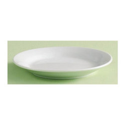 Tag Everyday - Whiteware 6 in. Porcelain Appetizer Plate - S - Set of 12. Great basic piece for year round entertaining and dining. Microwave and dishwasher safe. Oven safe at low temperatures. Made from porcelain. White color. 6 in. Dia.