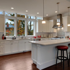 Craftsman Kitchen by Isola Homes