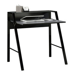 Sauder - Sauder Beginnings Desk in Black Finish - Sauder - Writing Desks - 412883