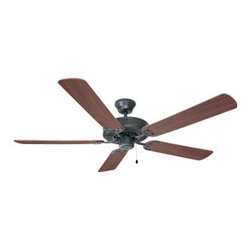 DHI-Corp - Millbridge 52-Inch 5-Blade Ceiling Fan, Dark Mahogany or Light Maple Blades, Oil - The Design House 154153 Millbridge 52-Inch 5-Blade Ceiling Fan features an oil rubbed bronze finish ideal for any room in the house. Use the pull chain to control your 3-speed motor and toggle between three different speed settings. The (5) fan blades have a dark mahogany finish on one side and a light maple finish on the other. Choose between close-up, 6-inch downrod or vaulted mount for angled ceilings. Run the motor in reverse to help conserve energy costs during all seasons. Blades can be run on the normal setting during the summer to create cooling air flow and on reverse in the winter to re-circulate warm air from the ceiling. This fan is UL listed, rated for 120-volts . Adaptable light kit is not included. Measuring 52-inches, this fixture adds a dramatic accent to any home or condominium. Coordinate your home with the rest of the Millbridge collection, which features a beautiful matching pendant, chandelier, vanity and ceiling mount. The Design House 154153 Millbridge 52-Inch 5-Blade Ceiling Fan comes with a 10-year limited warranty that protects against defects in materials and workmanship. Design House offers products in multiple home decor categories including lighting, ceiling fans, hardware and plumbing products. With years of hands-on experience, Design House understands every aspect of the home decor industry, and devotes itself to providing quality products across the home decor spectrum. Providing value to their customers, Design House uses industry leading merchandising solutions and innovative programs. Design House is committed to providing high quality products for your home improvement projects.