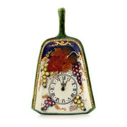 Artistica - Hand Made in Italy - Vite: Shovel Wall Clock - Vite Autunno Collection: