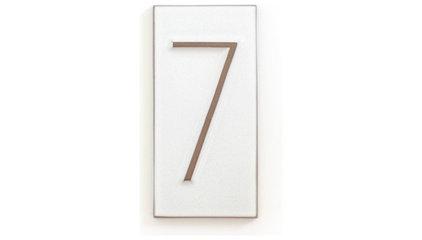 House Number Neutra 7 - Decorate - Heath Ceramics