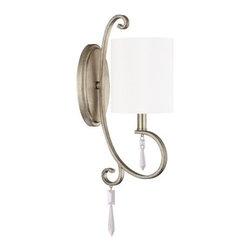 Capital Lighting - Capital Lighting 4461-565-CR Simone 1 Light Wall Sconce - Specifications: