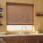 Levolor - Levolor 2-inch NuWood Composite Faux Wood Blinds - The ultimate advanced material is scratch and dust-resistant, designed for high temperature and humidity conditions like bathrooms and kitchens.  Colors coordinate directly with Levolor Premium Wood blinds.