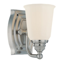 Minka Lavery - Minka Lavery 6451 1 Light Bathroom Sconce from the Clairemont Collection - Single Light Bathroom Sconce from the Clairemont CollectionFeatures: