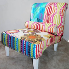 eclectic chairs by Hayneedle